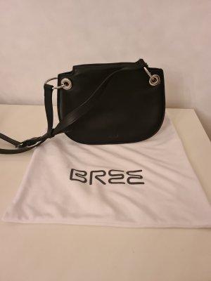 Bree Sac bandoulière noir cuir