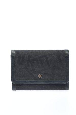 Bree Geldbörse schwarz abstraktes Muster Casual-Look