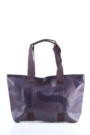 Bree Shoulder Bag lilac themed print casual look