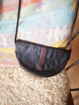 Bree Leder Halbmond Tasche Vintage