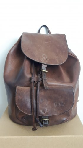 Bree Pouch Bag brown leather