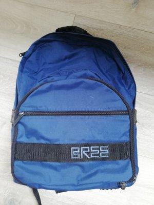 Bree Mochila de montaña azul-negro