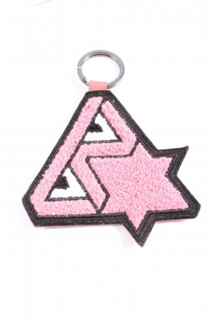 Bree Key Chain pink-black casual look