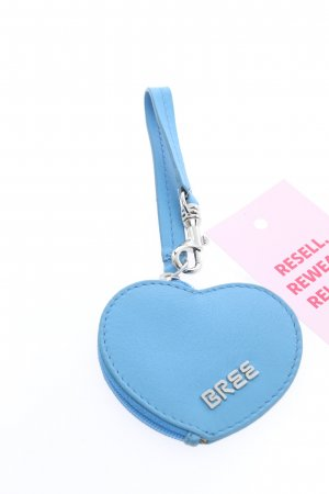 Bree Key Chain blue themed print casual look