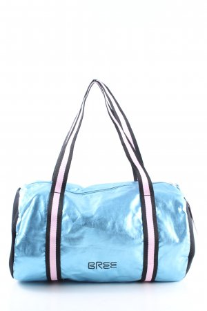 Bree Sports Bag printed lettering athletic style