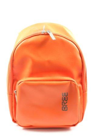 Bree Daypack light orange-black themed print casual look