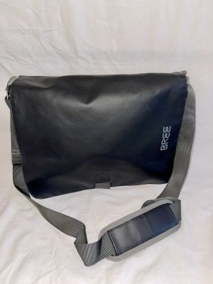 Bree Gekruiste tas zwart-grijs