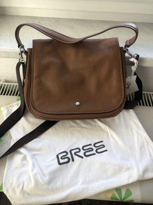 Bree Sac bandoulière brun cuir
