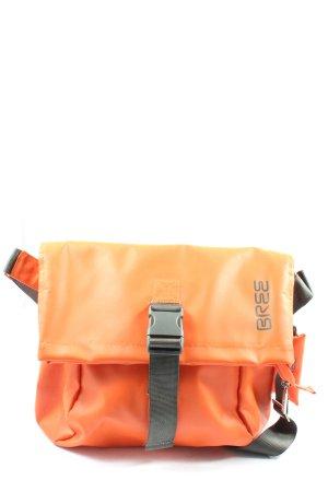 Bree Gekruiste tas licht Oranje casual uitstraling