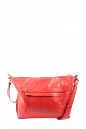Bree Gekruiste tas rood casual uitstraling