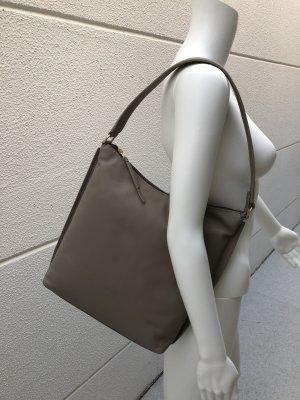 Bree Sac porté épaule gris brun cuir