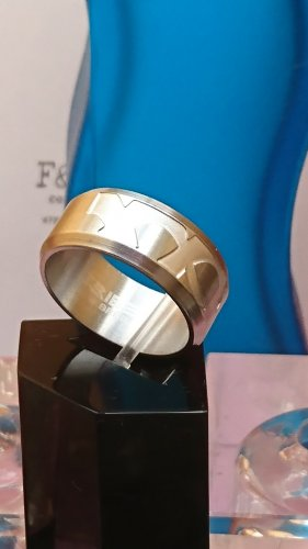 Breil Tribe Ring Edel Metall Unisex GR.20 - Stainless Steel-NEU!