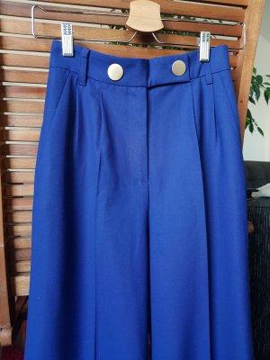 KITRI 3/4-broek blauw-donkerblauw Wol