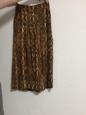 Breit geschnittene Hose aus Zara
