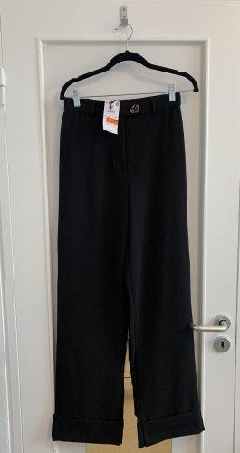 Reserved Pantalón de campana negro