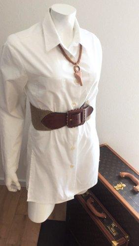 Cinturón de cadera coñac-beige claro