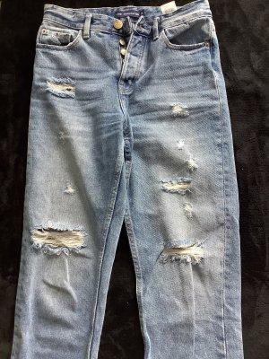 Sinsay Jeans carotte multicolore