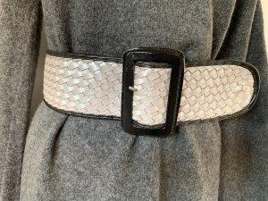 Cinturón trenzado multicolor Cuero