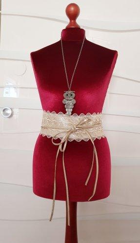 Faux Leather Belt camel