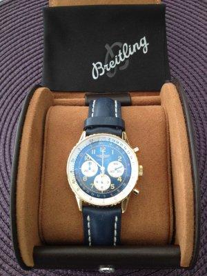 Breitling Orologio automatico blu scuro-oro Oro