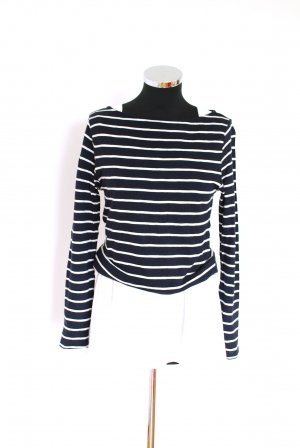 s. Oliver (QS designed) Stripe Shirt white-dark blue