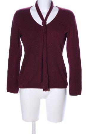 Breuninger Kasjmier trui rood zakelijke stijl