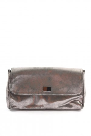 Breuninger Clutch silver-colored elegant