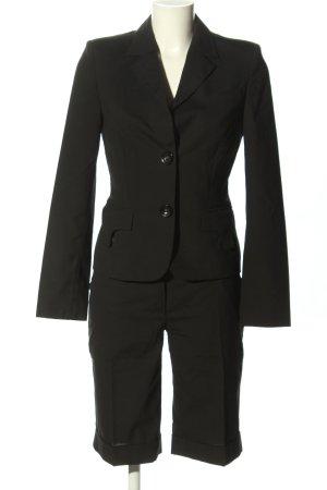 Breuninger Exquisit Garnitur damski czarny W stylu biznesowym