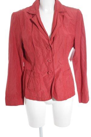 Breuninger Exquisit Short Blazer bright red classic style