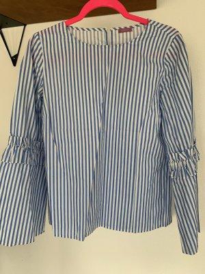 Breuninger Hemdblouse wit-blauw