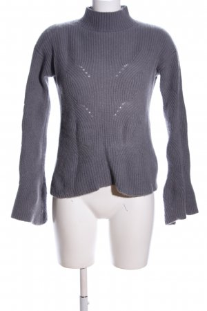 Breuninger Knitted Sweater light grey casual look