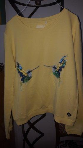 Brian & Nephew Sweatshirt gelb Kolibri Gr.36