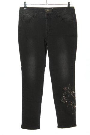 Brian Rennie Slim jeans zwart casual uitstraling