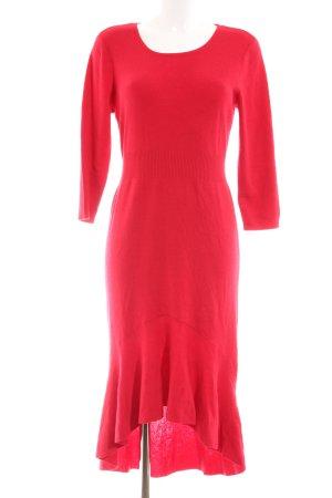 Brian Rennie Knitted Dress red elegant