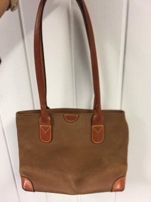 Brics Carry Bag bronze-colored leather