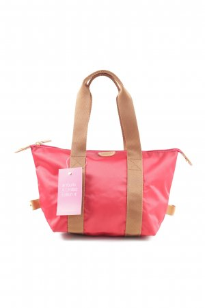 Bric's Carry Bag pink-brown casual look