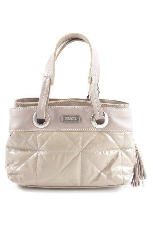 Bric's Mini Bag cream quilting pattern elegant