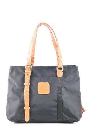 Bric's Sac porté épaule noir-orange clair style décontracté