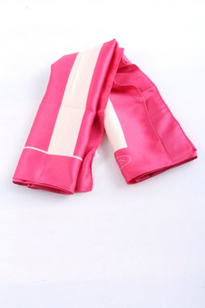 Brics Neckerchief pink-white striped pattern casual look