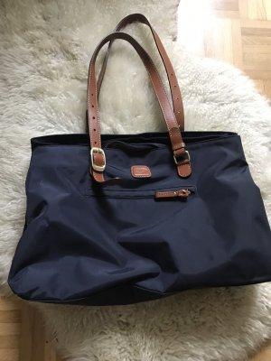 Brics Handbag brown-dark blue
