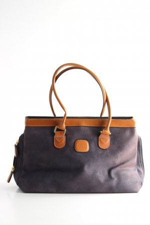 Brics Carry Bag blue-light orange animal pattern business style