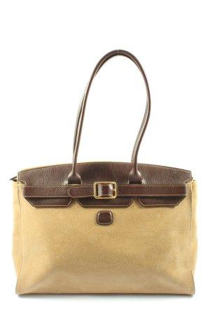 Brics Carry Bag cream-brown business style