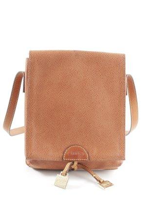 Brics Crossbody bag brown allover print casual look