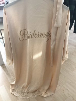 Bridesmaid Hochzeit Bademantel Glitzer Gold