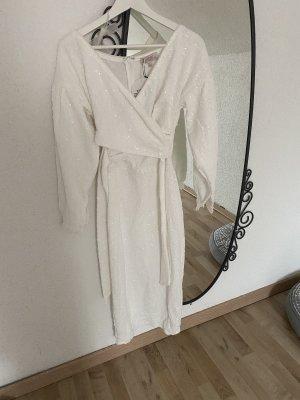 Bridesmaid Sequin Midi Dress