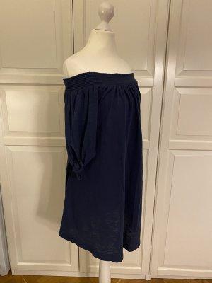 Roxy Letnia sukienka ciemnoniebieski Bawełna