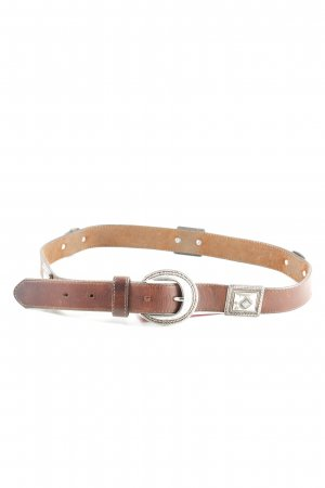 Brighton Leather Belt brown casual look