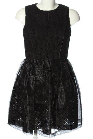 Brigitte Bardot Baljurk zwart elegant