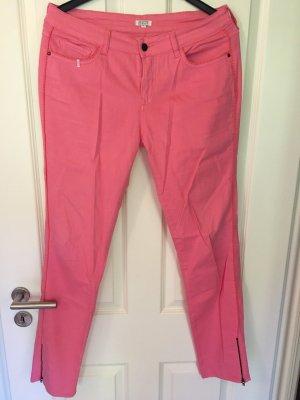 Brigitte Bardot Jeans coupe-droite rose-orange fluo coton