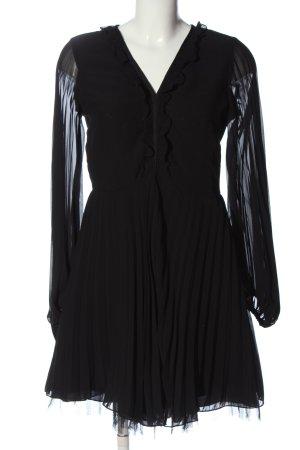 Brigitte Bardot Mini Abito nero stile casual